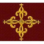 Крест 05 Симметричный -дизайн для машинной вышивки