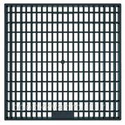 Решётка дождеприемного колодца 300х300 пластиковая черная фото