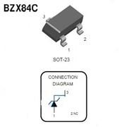 Стабилитрон SMD BZX84C 9V1 SOT23 фото