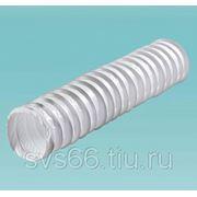 Поливент 660/127/3т Канал круглый гофрированный 125 мм х 3 м ( ПВХ ) фото