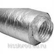 Гибкие алюминиевые воздуховоды теплоизолированные ИзоМЕ фото