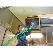 Очистка вентиляции от грязепылевых отложений фото