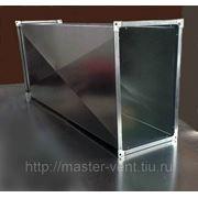 Воздуховод прямоугольный 100х100 мм фото