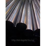 Воздуховоды круглого сечения прямошовные из оцинкованной стали фото