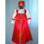 Русский народный хороводный (красный, девочка) фото