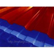 Профнастил с полимерным покрытием 0.6х0.8-1,15, крашеный С8, Н10, С20, С21, фото
