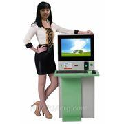 Компьютерный терминал с монетоприемником фото