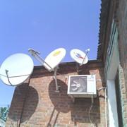 Оказание услуг по монтажу систем спутникового телевидения фото