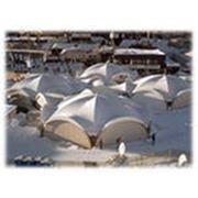 Тентовые конструкции. Каркасно-тентовые конструкции: шатры и летние кафе фото