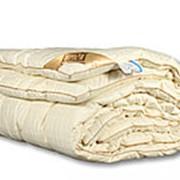 Одеяло из овечьей шерсти Люкс-меринос двуспальное очень теплое фото