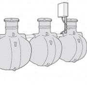 Индивидуальная установка биохимической очистки сточных вод Uponor Bio 5 фото