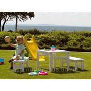 Детская дачная мебель Havanna Цвет белый фото