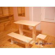 Мебель липовая для бани фото