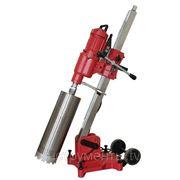 Алмазная сверлильная установка V-Drill 255N с наклонной стойкой до 255мм фото