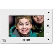 Видеодомофон Kocom KCV-A374 белый фото