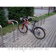 Велопарковка для одного велосипеда H-15 фото