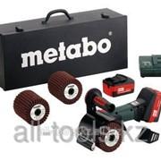 Аккумуляторная щеточная машина Metabo S 18 LTX, 115мм, набор Код: 600154870 фото