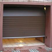 Гаражные секционные ворота серии RSD01 фото