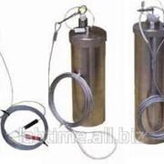 Пробоотборник DIP 50 для жидкостей, хромированный металл, длина 500 мм, объем 50 мл, PBI 22735 фото