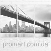 Модульна картина на полотні Міст код КМ6090-019 фото