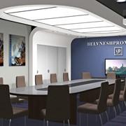 Дизайн интерьера общественных помещений: офис фото