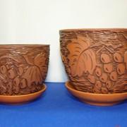 Цветочные горшки из керамики фото