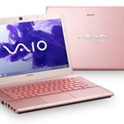 Ноутбук Sony VAIO SVS1311E3RP Pink фото