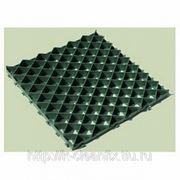 Газонная решетка пластиковая зеленая фото