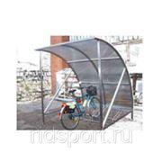 Навес для велосипедов рекламная H-38 фото
