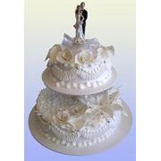 Изготовление свадебных тортов фото
