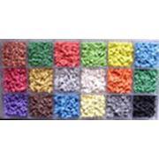 Крошка резиновая цветная фото
