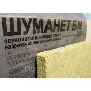Шуманет-БМ-60 минплита НГ, 1000*600*50 мм в упак. 4шт./ 2,4 м2 фото