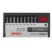 Набор бит Bosch Diamond impact pz, 10 предметов фото