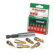 Набор бит Hammer Pb set no1 (7pcs) ph/pz/sl фото