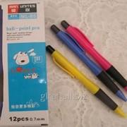 Ручка шариковая, автоматическая, цвет синий ML-B5 фото