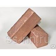 Кирпич силикатный рельефный с гидрофобным слоем (коричневый) фото