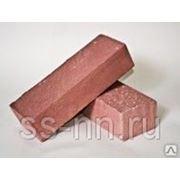 Кирпич силикатный колотый с гидрофобным слоем (розовый) фото