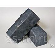 Кирпич силикатный рельефный с гидрофобным слоем (серый) фото