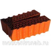 Поризованный кирпич - поризованный керамический блок (теплая керамика) ПОРОТЕРМ/POROTHERM 44 1/2 фото