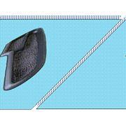 Накладка панели 2106 обтянутая релином (венилом) и необтянутая. фото