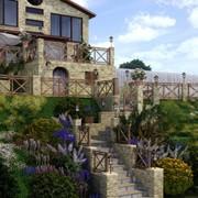 Сад, его дизайн в Украине, Цена доступная каждому, фото готовых работ фото