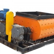 Двухвальный бетоносмеситель БСП-750 фото