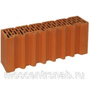 Поризованный кирпич - поризованный керамический блок (теплая керамика) ПОРОТЕРМ/POROTHERM 51 1/2 фото