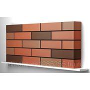 Облицовочный кирпич BRAER Front Brick красный гладкий одинарный фото