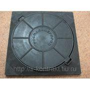 Люк полимерно-композитный 450/450/45мм фото