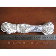 Канат капроновый тросовой свивки д.4 мм. Фасовка 15 м.