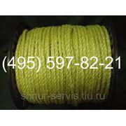 Канат сизалевый (веревка кручёная) 8 фото