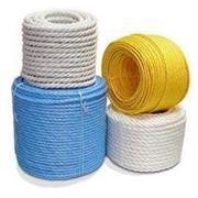 Канат полипропиленовый плетеный фото