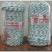 Канат капроновый плетеный для статической нагрузки. д.10мм (полиамидный) модель Микст. арт.0210