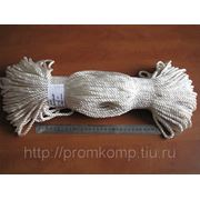 Канат капроновый тросовой свивки д.6 мм. Фасовка 100 м. фотография
